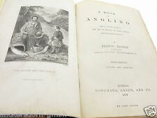 FRANCIS FRANCIS- A BOOK ON ANGLING - 3. AUFLAGE - 1872 - ein Buch -sehr selten