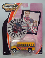 Matchbox Collectibles SNL Saturday Night Live Will Ferrell Spartans School Bus
