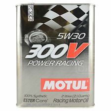 Motul 300V Power Racing 5W-30 Racing Engine Oil 2 Litres 2L