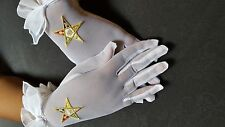 Order of Eastern Star Sheer Gloves