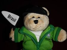 Starbucks Coffee Company Bearista Bear 2008 Destination Series Brasil