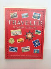 harris traveler stamp album filled with over 800 stamps stamp collection 1974