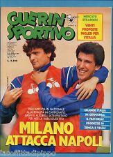 GUERIN SPORTIVO-1987 n.17- ALTOBELLI/BAGNI - FILM CAMPIONATO - POSTER PARMA