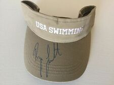 Ryan Lochte USA OLYMPIC SWIMMER Signed USA SWIMMING Autographed hat