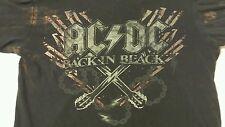 Entertainment Memorabilia Rock&Roll Music Concert Adult LS Shirt sz M:  AC/DC