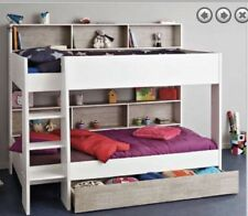 Single Bunk KIDS 2 X Beds With Pullout Drawer New Design Made In France Save !!