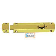CARLISLE Brass AQ81 10.2cm Ottone Lucidato Porta Chiavistello Scorrevole