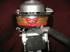 antique classic vintage Johnson outboard