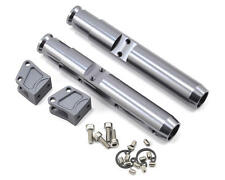 Vanquish Products Wraith/Yeti Center Pumpkin Rear Currie Axle Tubes (2) (Grey)