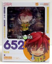 "In STOCK Good Smile Company No Game No Life ""Sora"" Nendoroid Action Figure"
