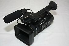 Sony HVR-Z5P PAL professional Camcorder Black low drum hour
