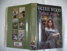 VALERIE WOOD, FALLEN ANGELS, BANTAM 1ST  2007, SIGNED BY AUTHOR, DUSTWRAPPER