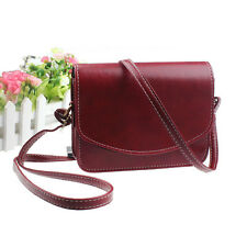 Vintage Women Ladies Leather Handbags Satchel Messenger Shoulder Crossbody Bag