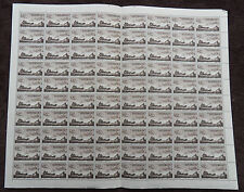 AUSTRALIA 1955 MAIL COACH FULL SHEET OF 80 MNH STAMPS UNMOUNTED MINT L2
