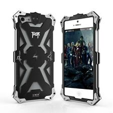Bumper Metal Thor IRon Phone Protective Case Shockproof For iPhone 5 5S SE Black