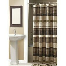 NEW Croscill Portland Shower Curtain in Bronze, 100% Polyester