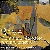 RAVEL: COMPLETE MELODIES NEW & SEALED