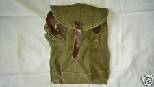 Authentic Russian AK47 Ammo Pouch Soviet Olive Ammunition Bag, 3 cell