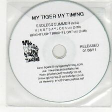(EH766) My Tiger My Timing, Endless Summer - 2011 DJ CD