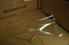 MUTAZU CLEAR ABS MOLDED KAWASAKI ZX10R ZX 10R 2011-2013 WINDSHIELD WINDSCREEN
