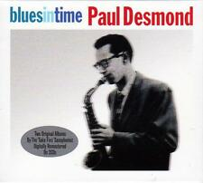 PAUL DESMOND - BLUES IN TIME (NEW SEALED 2CD)