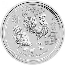 AUSTRALIA 2 Dollaro Argento 2 Once Anno du Coq 2017 - 2 Oz silver coin Rooster