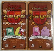 Adventure Time Card Wars BMO Lady Rainicorn Lumpy Space Princess Bubblegum Decks