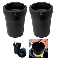 2 Jumbo Butt Bucket Ashtray Cigarette Extinguishing Car Cup Ash Holder Portable