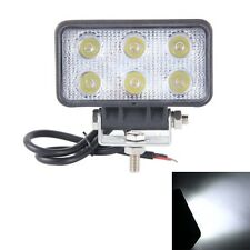 LML-1518 18W 1260-1350LM Epistar 6 LED White 60 Degree Flood Beam Car LED Light