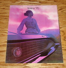 Original 1970 Ford Torino Sales Brochure 70 Cobra Fairlane