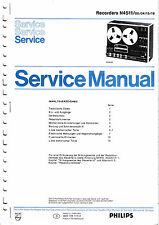Service Manual instructions for Philips N 4511