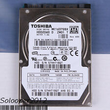 "Free ship TOSHIBA 160 GB HDD 2.5"" 8 MB 5400 RPM MK1637GSX SATA Hard Disk Drive"