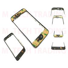 5X IPHONE 3G 3GS TOUCH LCD BEZEL FRAME & HOME BUTTON + FLEX & SPEAKER ONLY