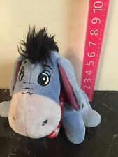 Walt Disney Winnie The Pooh Eeyore Winter Red Scarf Stuffed Animal Plush 10""