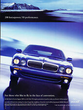 2000 Jaguar XJ8 Original Advertisement Car Print Ad J365
