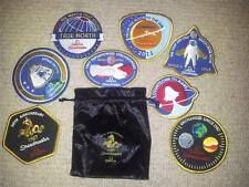 OMEGA 50th Anniversary 1957 SPEEDMASTER Patch Badge Set in Velvet Pouch
