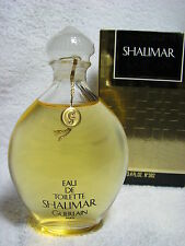 Guerlain SHALIMAR Eaude Toilette 100 ml Vintage 1990 pre-reformulated sealed BOX