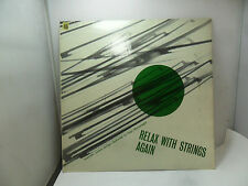 RELAX WITH STRING AGAIN HUGO MONTENEGRO T304 WORLD RECORDS  LP VINYL