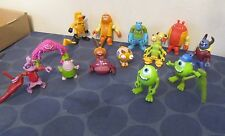 Monsters Inc University lot of 13 figures Sully Mike more