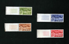1964 South Vietnam Full Set 4 Stamps MNH Danhim Hydro-Electric Color Check Tabs