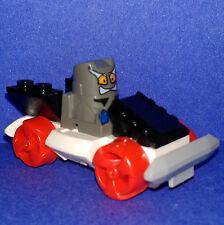 Lego City-Crash'em coureurs-xalax minifigure-pare-chocs de voiture & action flip