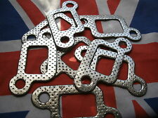 ROVER V8 P5B P6B & SD1 EXHAUST MANIFOLD GASKETS FULL SET 8 ONE KIT