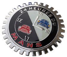Le Mans 24 hr race car grille badge