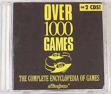 Over 1000 Games The Complete Encyclopedia of Games (PC, 1997)
