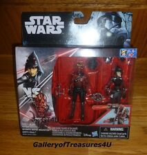 "Star Wars Rebels Seventh Sister Inquisitor & Darth Maul 3.75"" 2 Pack 3.75 Inches"