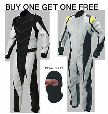 New Go Kart Race Suit Buy One Suit Get One Suit FREE  and balaclava