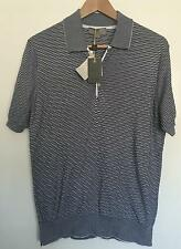 BRAND NEW Men's Canali Pure Cotton Woven Navy Top Size 50 RRP ï¾£199.00 (MI.F)