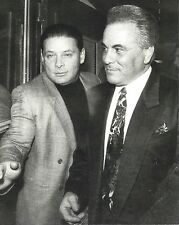 JOHN GOTTI & SAM GRAVANO 8X10 PHOTO MAFIA ORGANIZED CRIME MOBSTER MOB PICTURE