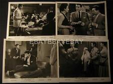 1958 Gene Barry Hong Kong Confidential VINTAGE 8 MOVIE PHOTO LOT 648A