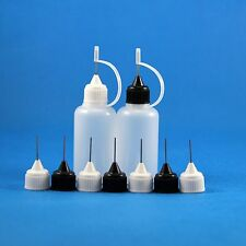10 * 30 ml 1 OZ Plastic Needle Tip Dropper Bottle Soldering Liquid Flux Drop Oil